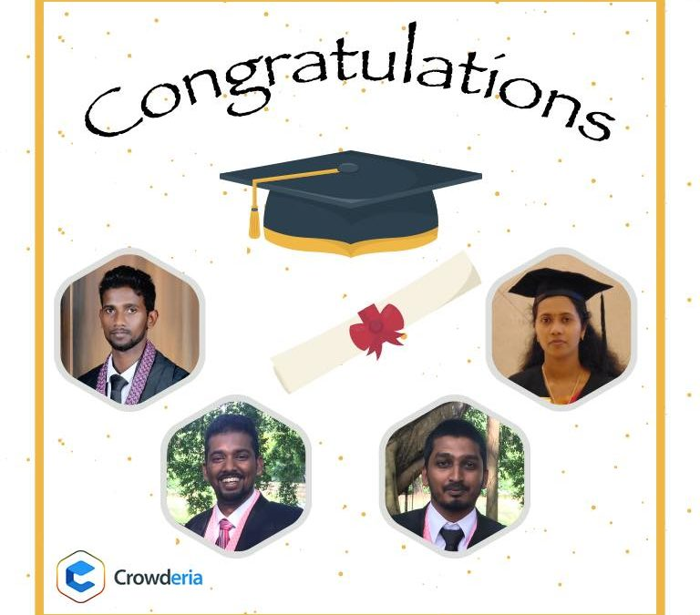 We Congratulate Our Crowderians